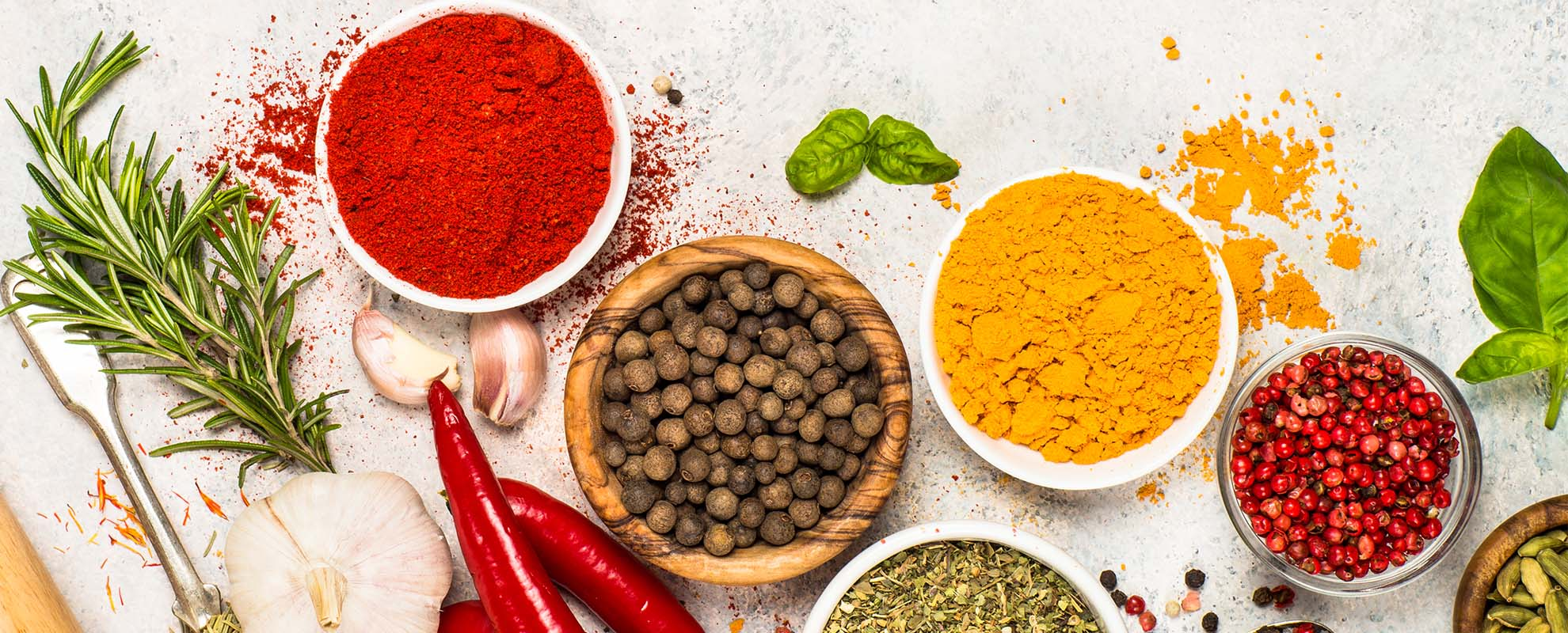 Alavi - Set of various spices and herbs