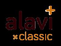 Alavi - partner voor smaakvolle, biologische en gezonde voeding - full logo classic - transparant