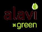 Alavi - partner voor smaakvolle, biologische en gezonde voeding - full logo green - transparant